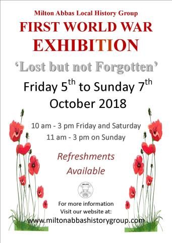 WWI Exhibition Poster Final version